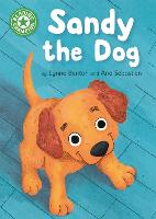 Cover for Reading Champion: Sandy the Dog Independent Reading Green 5 by Lynne Benton