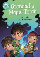Cover for Reading Champion: Grandad's Magic Torch Independent Reading Turquoise 7 by Jill Atkins