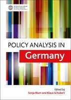 Cover for Policy Analysis in Germany by Sonja Blum