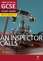 Cover for An Inspector Calls: York Notes for GCSE (9-1) by John Scicluna