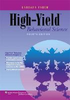 Cover for High-Yield Behavioral Science by Barbara Fadem