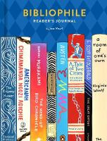 Cover for Bibliophile Reader's Journal by Jane Mount