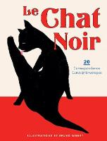 Cover for Le Chat Noir: 20 Correspondence Cards & Envelopes by Bruno Gibert