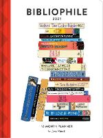 Cover for 2021 Planner: Bibliophile by Jane Mount