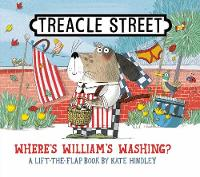 Cover for Where's William's Washing? by Kate Hindley