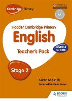 Cover for Hodder Cambridge Primary English: Teacher's Pack Stage 2 by Sarah Snashall