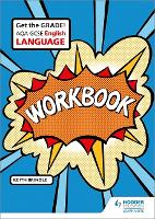 Cover for AQA GCSE English Language Workbook by Keith Brindle