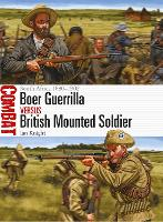 Cover for Boer Guerrilla vs British Mounted Soldier  by Ian Knight