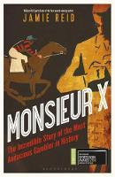 Cover for Monsieur X  by Jamie Reid