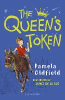 Cover for The Queen's Token: A Bloomsbury Reader by Pamela Oldfield