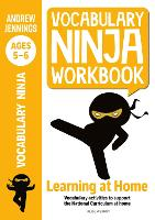Cover for Vocabulary Ninja Workbook for Ages 5-6 by Andrew Jennings