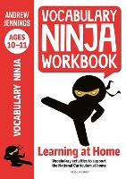 Cover for Vocabulary Ninja Workbook for Ages 10-11 by Andrew Jennings