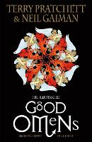 Cover for The Illustrated Good Omens by Terry Pratchett, Neil Gaiman
