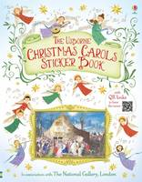 Cover for Christmas Carols Sticker Book by Jane Chisholm