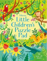 Cover for Little Children's Puzzle Pad by Kirsteen Robson, Sam Smith