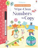 Cover for Get Ready For School Wipe-Clean Numbers to Copy by Hannah Watson
