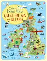 Cover for Sticker Picture Atlas of Great Britain and Ireland by Jonathan Melmoth