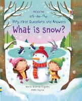 Cover for Lift-the-flap Very First Questions and Answers What is Snow? by Katie Daynes, Katie Daynes