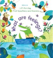 Cover for First Questions and Answers: What are Feelings? by Katie Daynes, Katie Daynes