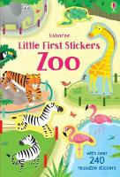 Cover for Little First Stickers Zoo by Holly Bathie