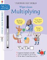 Cover for Wipe-Clean Multiplying 7-8 by Holly Bathie