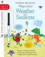 Cover for Wipe-Clean Weather and Seasons 5-6 by Holly Bathie