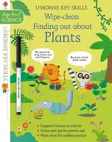 Cover for Wipe-Clean Finding Out About Plants 6-7 by Hannah Watson