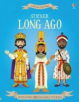 Cover for Sticker Long Ago by Megan Cullis