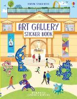Cover for Art Gallery Sticker Book by Abigail Wheatley