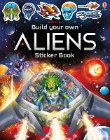 Cover for Build Your Own Aliens Sticker Book by Simon Tudhope