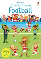 Cover for Little First Stickers Football by Sam Smith