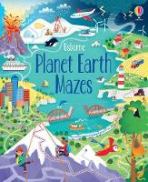 Cover for Planet Earth Mazes by Sam Smith