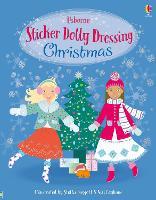 Cover for Sticker Dolly Dressing Christmas by Leonie Pratt