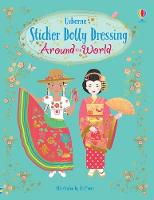 Cover for Sticker Dolly Dressing Around the World by Emily Bone