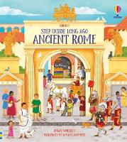 Cover for Step Inside Ancient Rome by Abigail Wheatley