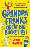 Cover for Grandpa Frank's Great Big Bucket List by Jenny Pearson