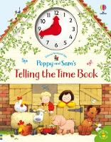 Cover for Poppy and Sam's Telling the Time Book by Heather Amery
