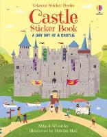 Cover for Castle Sticker Book by Abigail Wheatley