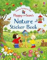 Cover for Poppy and Sam's Nature Sticker Book by Kate Nolan