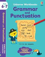 Cover for Usborne Workbooks Grammar and Punctuation 6-7 by Hannah Watson