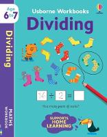 Cover for Usborne Workbooks Dividing 6-7 by Holly Bathie