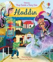 Cover for Peep Inside a Fairy Tale Aladdin by Anna Milbourne, Anna Milbourne