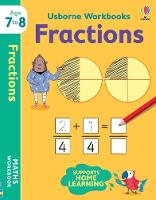 Cover for Usborne Workbooks Fractions 7-8 by Holly Bathie