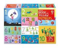 Cover for Book and Jigsaw Numbers by Felicity Brooks, Felicity Brooks