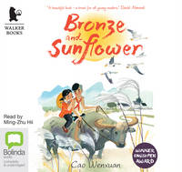 Cover for Bronze and Sunflower by Cao Wenxuan