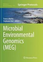 Cover for Microbial Environmental Genomics (MEG) by Francis Martin