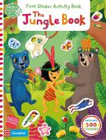 Cover for The Jungle Book: First Sticker Activity Book by Miriam Bos