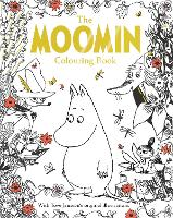 Cover for The Moomin Colouring Book by Tove Jansson