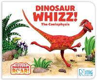 Cover for Dinosaur Whizz! The Coelophysis by Peter Curtis, Jeanne Willis