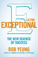 Cover for E is for Exceptional by Rob Yeung